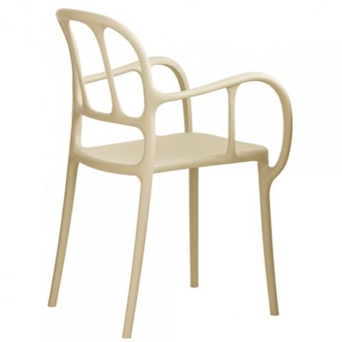 chaise mila magis beige