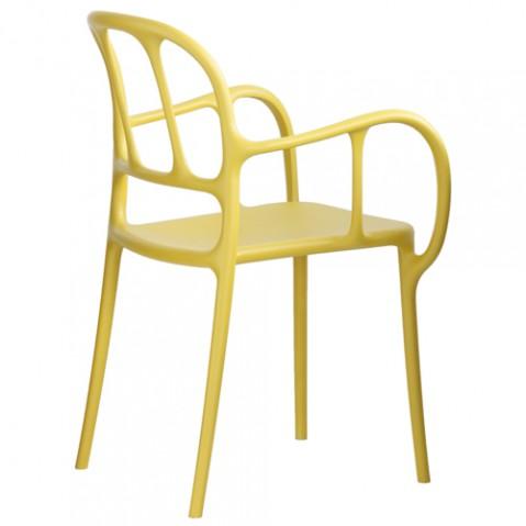 chaise mila magis jaune