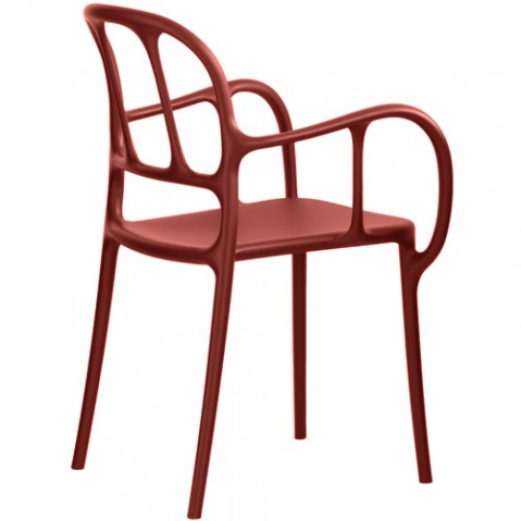 chaise mila magis rouge
