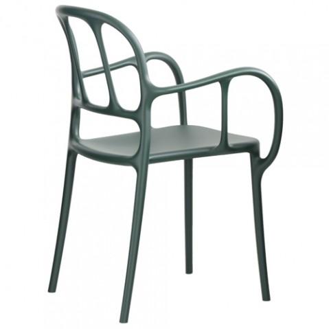 chaise mila magis vert fonce