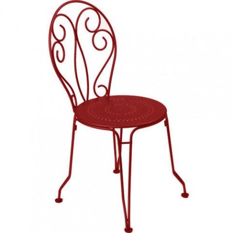 chaise montmartre fermob piment