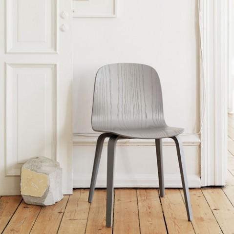 chaise 4 pieds visu muuto noir
