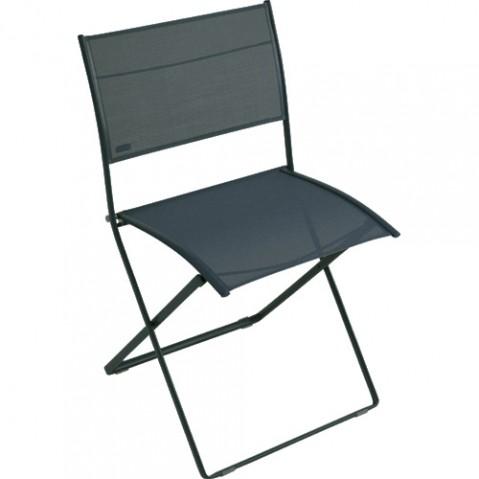 chaise pliante plein air fermob gris orage