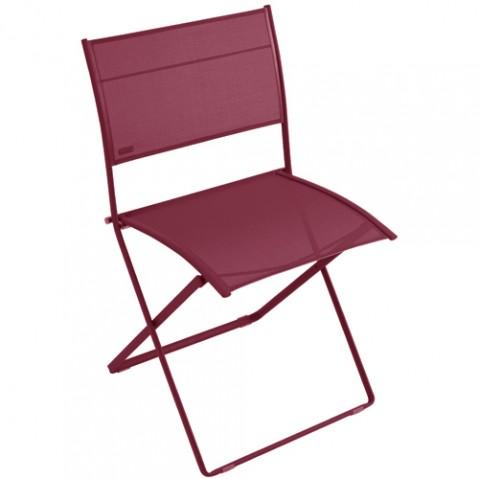 chaise plein air fermob piment