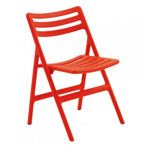 chaise pliante folding air chair magis orange
