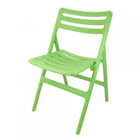 chaise pliante folding air chair magis vert