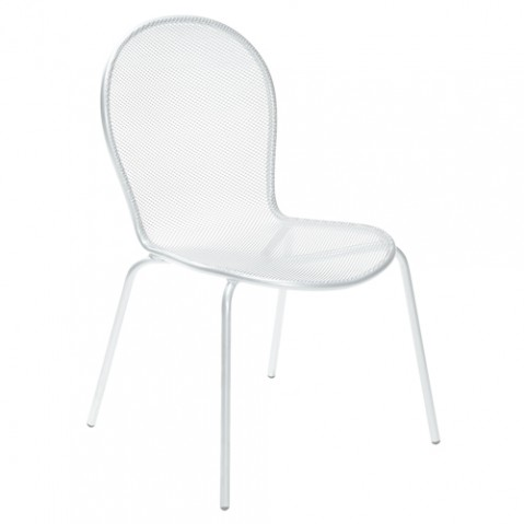 chaise ronda emu blanc