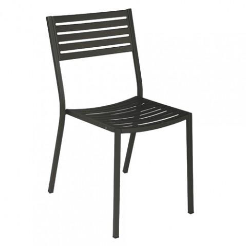 chaise segno emu fer ancien