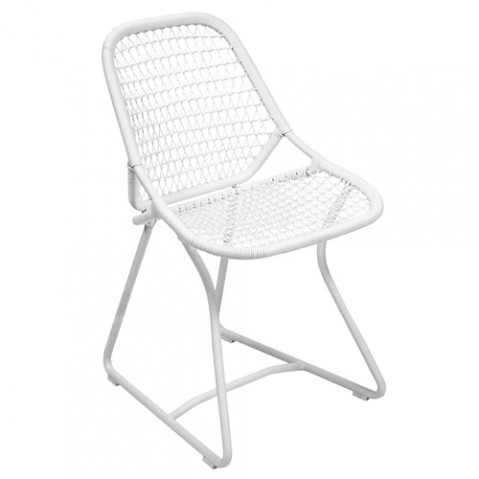 chaise sixties fermob blanc