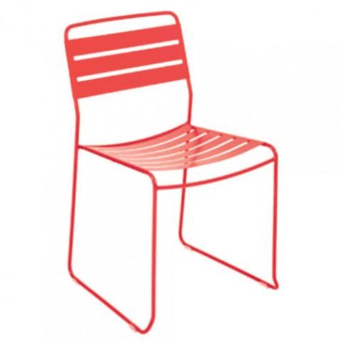chaise surprising fermob capucine