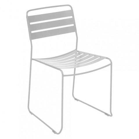 chaise surprising fermob gris metal