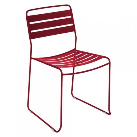 chaise surprising fermob piment