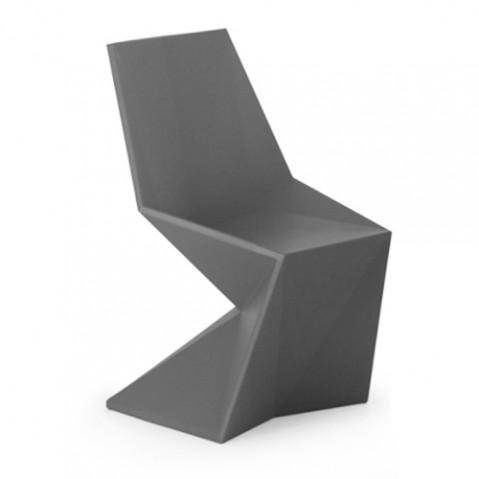 chaise vertex vondom gris