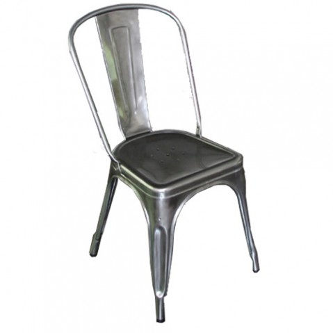 CHAISE A ACIER BRUT de TOLIX , 3 finitions