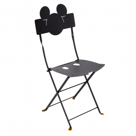 CHAISE BISTRO MICKEY MOUSE©, 4 couleurs de FERMOB