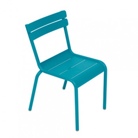 CHAISE LUXEMBOURG KID, 23 couleurs de FERMOB