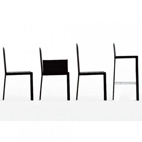 Kristalia chaise Slim noir