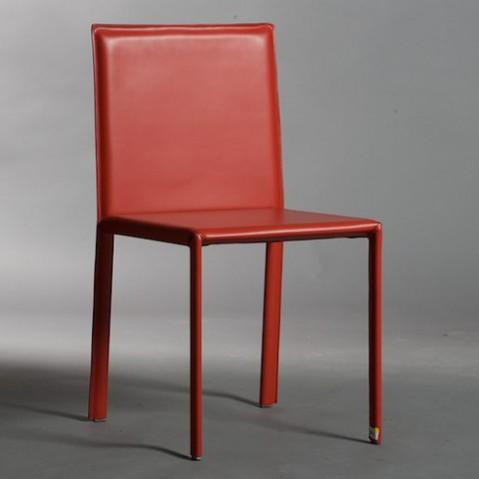 Kristalia chaise Slim rouge