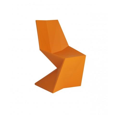 CHAISE VERTEX, Orange de VONDOM