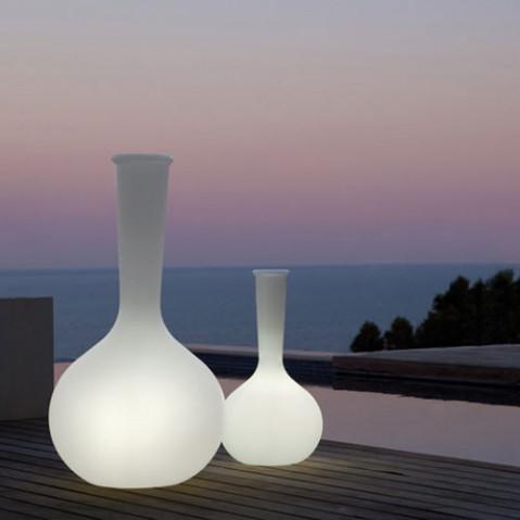 Chemistubes Vase Lumineux H65 Design Vondom Blanc