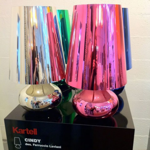 Cindy Lampe à Poser Design Kartell Rose