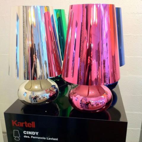 Cindy Lampe à Poser Design Kartell Bleu
