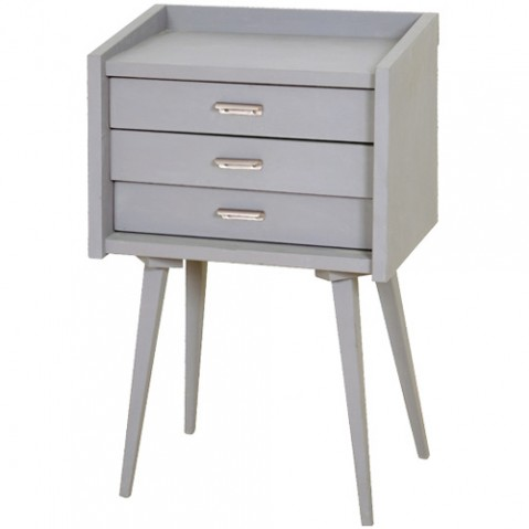 commode chevet secrets laurette gris