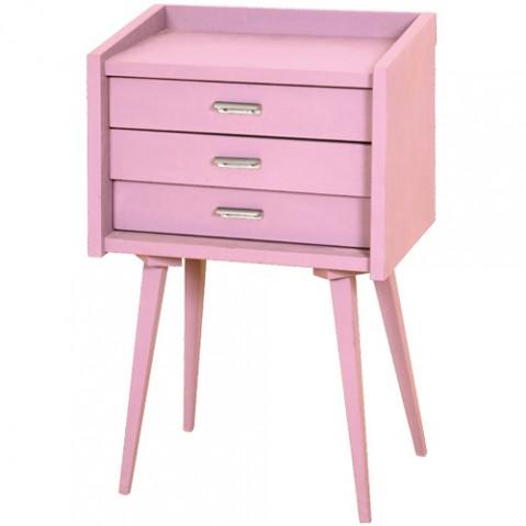 le chevet des secrets chevet vieux rose de laurette. Black Bedroom Furniture Sets. Home Design Ideas