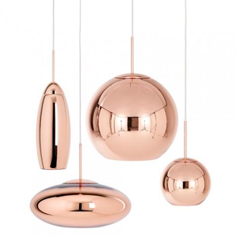 suspension copper wide tom dixon