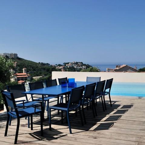 costa fermob table design extensible tilleul