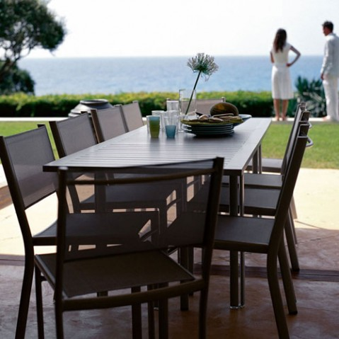 costa fermob table design extensible rouille
