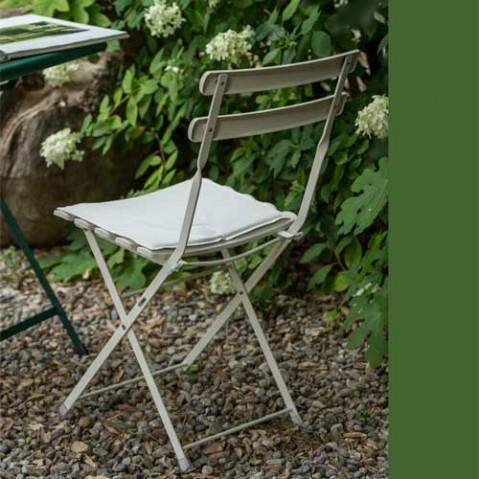 coussin assise chaise arc en ciel emu vert