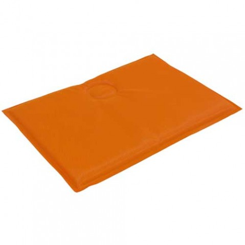coussin assise chaise arc en ciel emu orange