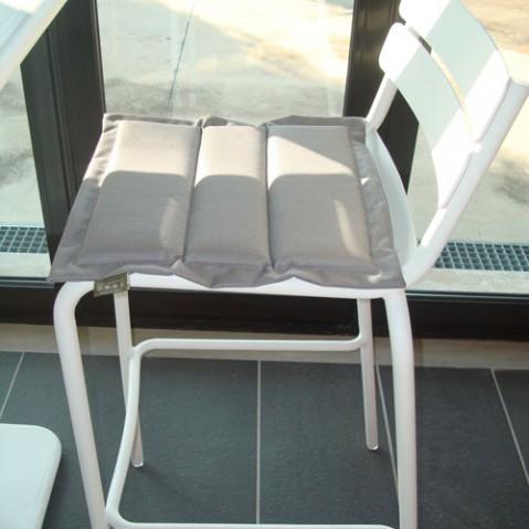 coussin fermob pour chaise et bridge luxembourg taupe