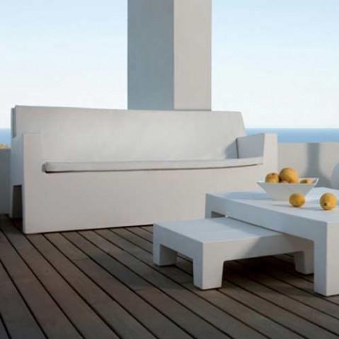 coussin canape sofa vondom blanc
