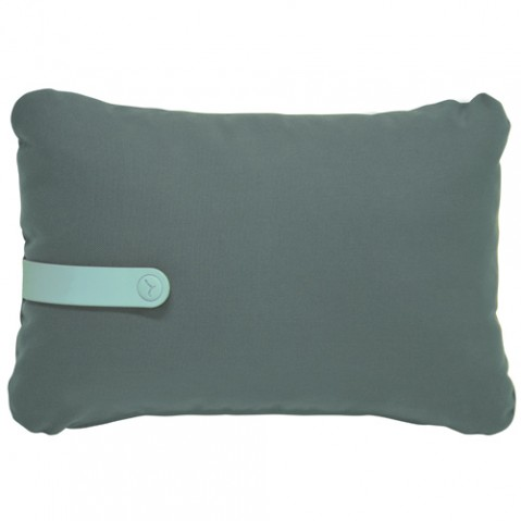 coussin color mix 44 30 fermob vert safari
