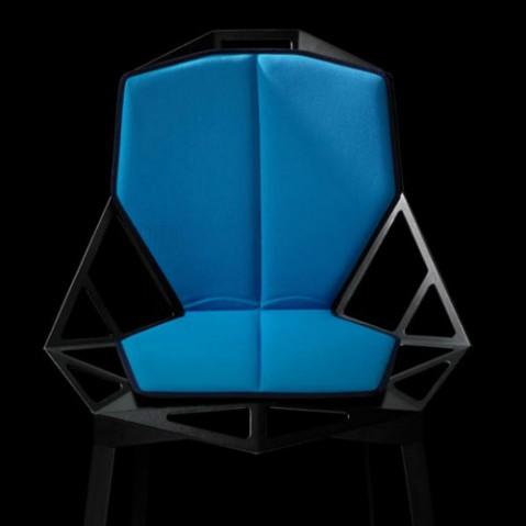 double coussin chair one magis bleu