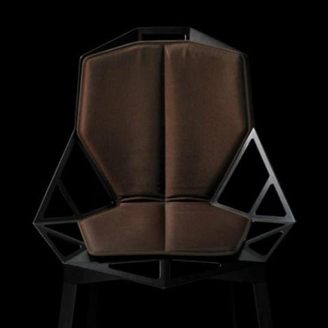 double coussin chair one magis marron