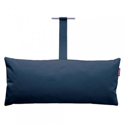 coussin headdemock pillow fatboy bleu fonce