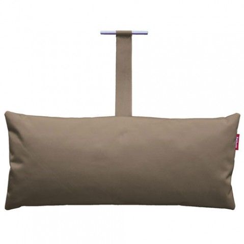 coussin headdemock pillow fatboy taupe