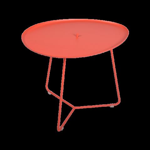 TABLE BASSE COCOTTE capucine, de FERMOB