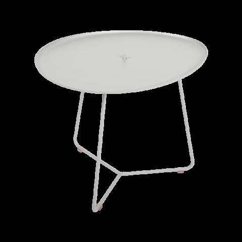 TABLE BASSE COCOTTE gris métal, de FERMOB