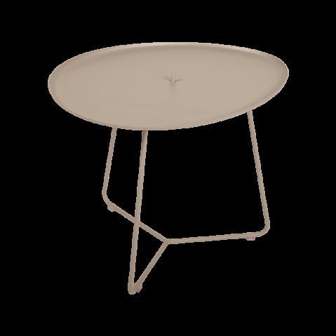 TABLE BASSE COCOTTE muscade, de FERMOB
