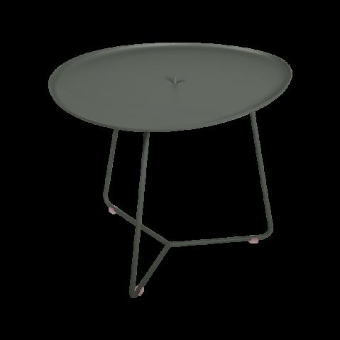 TABLE BASSE COCOTTE romarin, de FERMOB