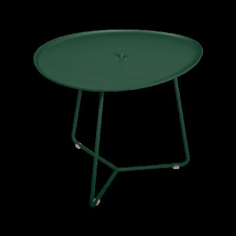 TABLE BASSE COCOTTE vert cèdre, de FERMOB