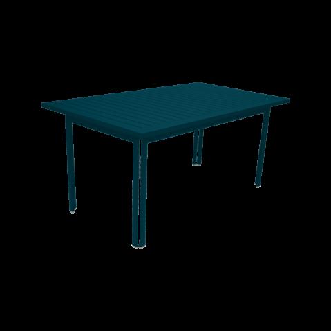TABLE COSTA, Bleu acapulco de FERMOB