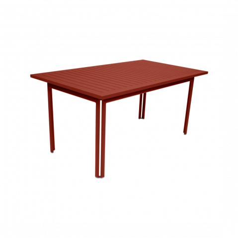 TABLE COSTA, Ocre rouge de FERMOB