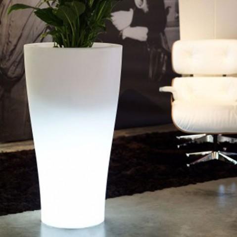 Curvada diamètre 45 cm Pot lumineux Vondom Blanc