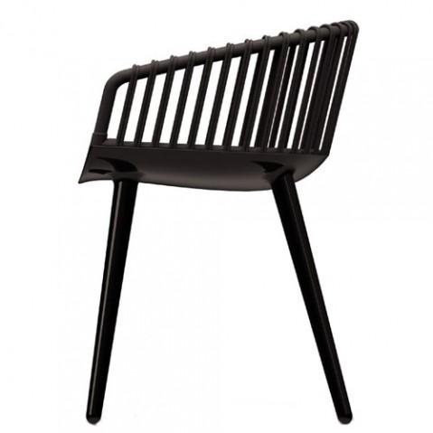 Cyborg Club fauteuil design magis noir