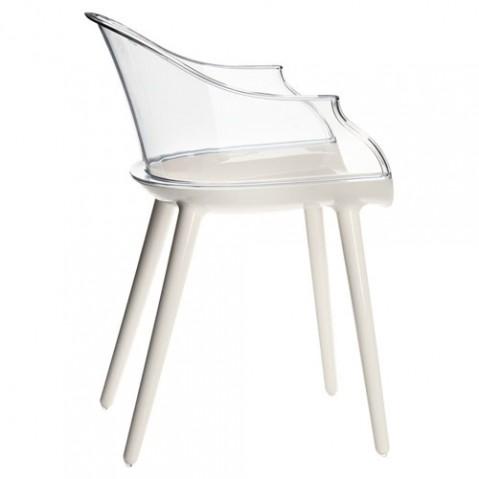 Cyborg Fauteuil design magis blanc transparent
